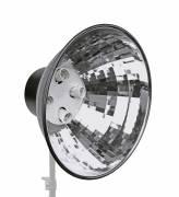 BRESSER MM-05 Lampenhalter mit Reflektor für 4 Spirallampen