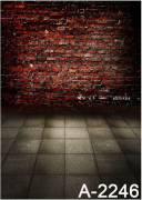 BRESSER BR-A2246 Hintergrundtuch mit Fotomotiv 1,5x2,6m
