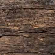 BRESSER Flatlay Hintergrund für Legebilder 60 x 60cm Dunkles Treibholz