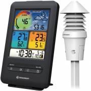 BRESSER W-LAN Farb-Wetterstation mit 4-in-1 UV-/Licht-Sensor