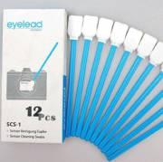 eyelead Reinigungstupfer 15 mm breit für Kamerasensoren (12 Stück)