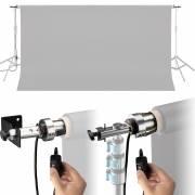 BRESSER MR-300 elektrisches Hintergrundsystem für 1 Hintergrundrolle