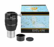 EXPLORE SCIENTIFIC Fokal Extender 2x 31.7mm/1.25""