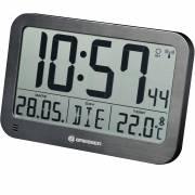 BRESSER MyTime MC LCD Wand-/Tischuhr schwarz 225x150mm