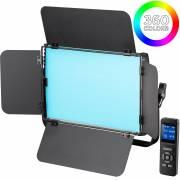BRESSER RGB-60W LED Flächenleuchte