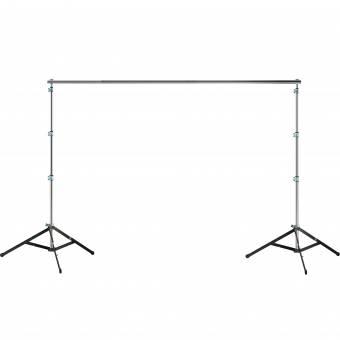 BRESSER BR-BS310 PRO Hintergrundsystem 300 x 310 cm für schwere Studiohintergründe