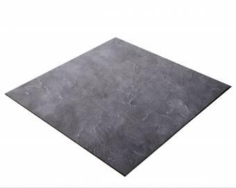 BRESSER Flatlay Hintergrund für Legebilder 60x60cm Betonlook Grau