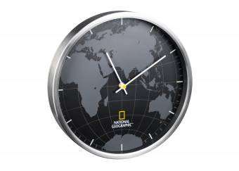 NATIONAL GEOGRAPHIC Wanduhr 30 cm