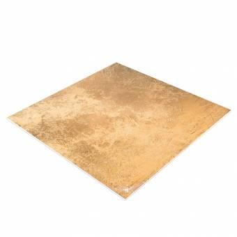 BRESSER Flatlay Hintergrund für Legebilder 60x60cm Goldene Textur