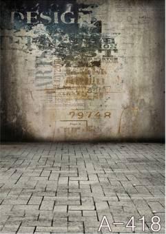 BRESSER BR-A0418 Hintergrundtuch mit Fotomotiv 1,5x2,6m