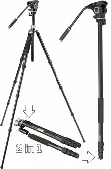BRESSER BX-5 Pro Profi-Video-Stativ