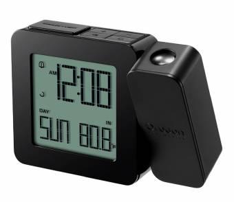 Oregon Scientific funkgesteuerte Projektionsuhr mit Innentemperatur - schwarz