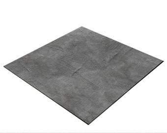 BRESSER Flatlay Hintergrund für Legebilder 60x60cm Betonlook Dunkelgrau