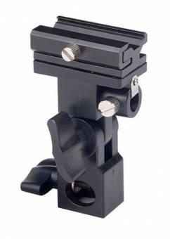 BRESSER JM-12 Blitzhalter mit Schirmaufnahme