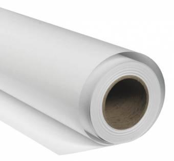 BRESSER SBP08 Papierhintergrundrolle 1,36x11m arktisch weiß