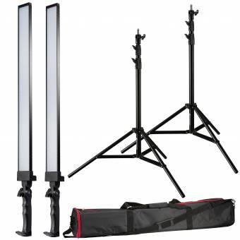 BRESSER BR-2250 LED Striplight Tageslicht-Set