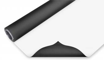 BRESSER Vinyl Hintergrundrolle 2,72x4m schwarz/weiß