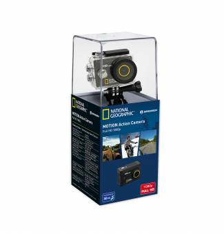 NATIONAL GEOGRAPHIC Full-HD Action Camera, 140°, 30m wasserdicht