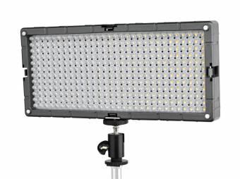 BRESSER SL-360-A Slimline LED Video-Flächenleuchte 21,6W/1.200LUX Bi-Color