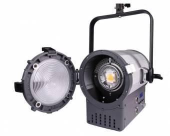 BRESSER SR-1500A LED Fresnel Spotlight + DMX + Kühlung