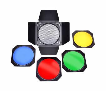 BRESSER M-35 Abschirmklappen-Set für Reflektoren