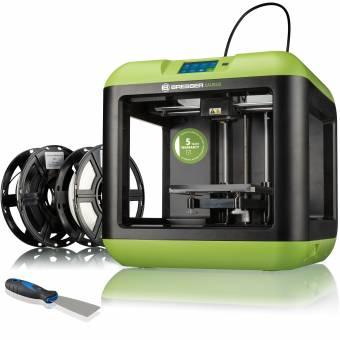 BRESSER SAURUS Einsteiger WLAN 3D Drucker mit Filament-Bundle