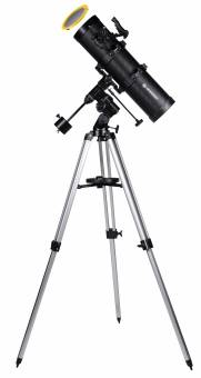 BRESSER Spica 130/650 EQ3 - parabol. Spiegelteleskop mit Smartphone Kamera Adapter