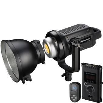 BRESSER BR-D1200BL COB Bi-Color LED Spotlicht mit Kühlung