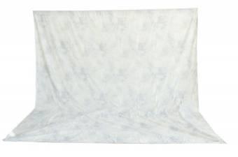 BRESSER BR-6106 waschbares Hintergrundtuch mit Muster 3x6m