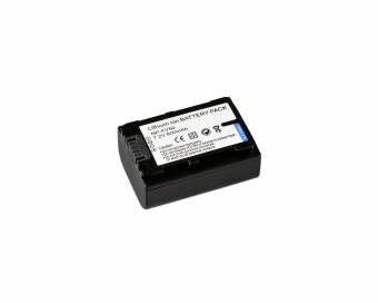 BRESSER Lithium-Ionen Ersatzakku für Sony NP-FV50