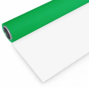 BRESSER Vinyl Hintergrundrolle 2,72x4m grün/weiß