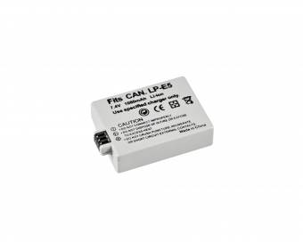 BRESSER Lithium-Ionen Ersatzakku für Canon LP-E5