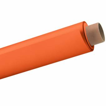 BRESSER 39 Papierhintergrundrolle 2,72x11m mandarine/grell orange