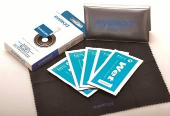 eyelead Objektivreinigungsset - 5 LCW-1 Feuchttücher + 1 ALCC-1 antistatisches Linsentuch