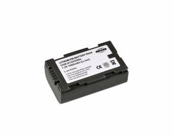 BRESSER Lithium-Ionen Ersatzakku für Panasonic CGR-D120/CGR-D08S