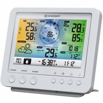 BRESSER zusätzliche Basisstation für 7002581 Wetter Center weiß