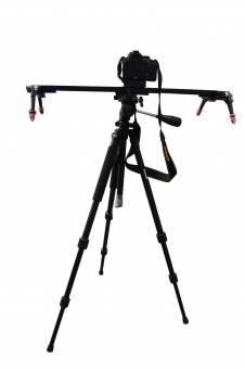 BRESSER MS-8777 Foto-/Video-Kameraschlitten 1,5 Meter breit