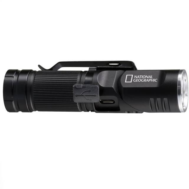 NATIONAL GEOGRAPHIC ILUMINOS 450 LED-Taschenlampe mit Kopfhalterung 450 lm