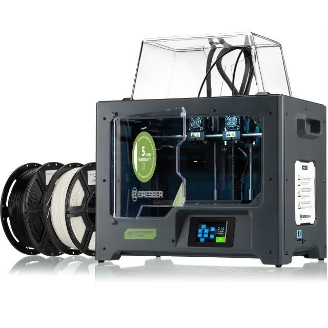 BRESSER T-REX² 3D Drucker mit 2 Extrudern