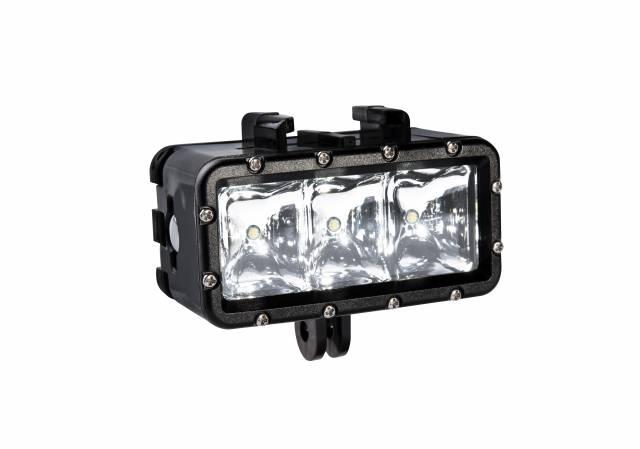 BRESSER Action-Cam LED-Leuchte - wasserdicht