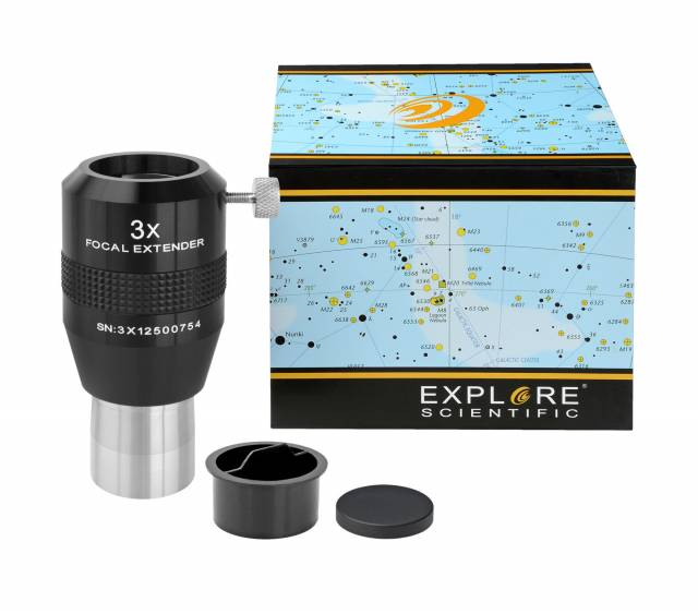 "EXPLORE SCIENTIFIC Fokal Extender 3x 31.7mm/1.25"""