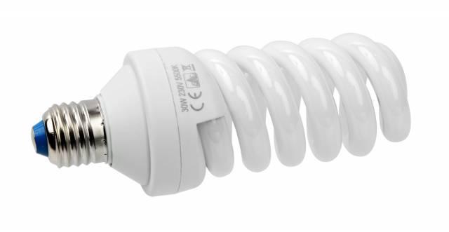 BRESSER JDD-6 Spiral Tageslichtlampe E27 / 30 W