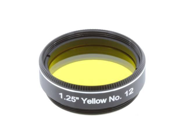 """EXPLORE SCIENTIFIC Filter 1.25"""" Gelb Nr.12"""