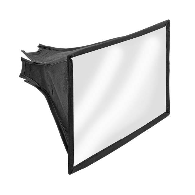 BRESSER SS-27 Softbox für Kamerablitze (17 x 15 cm)