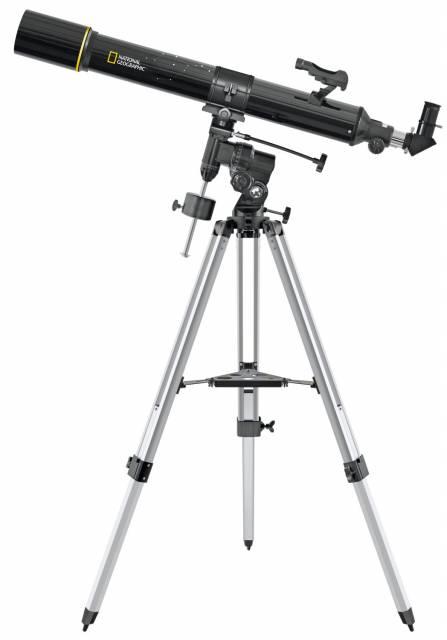 NATIONAL GEOGRAPHIC 90/900 Refraktor Teleskop EQ3