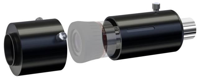 """BRESSER variabler 1,25"""" Adapter für Okularprojektion"""