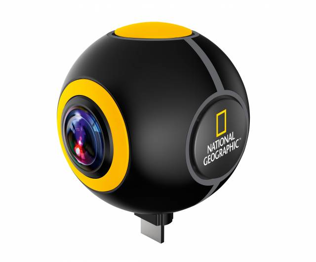 NATIONAL GEOGRAPHIC Android 360° Action Camera Spy
