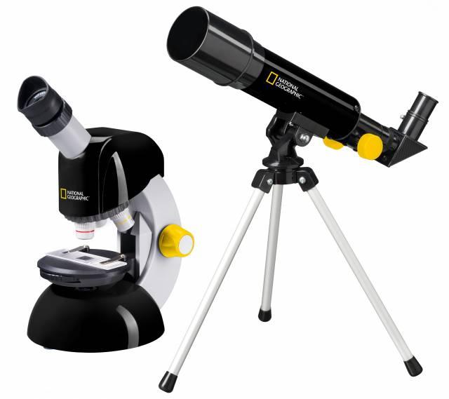 NATIONAL GEOGRAPHIC Teleskop + Mikroskop Set