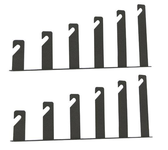 BRESSER MB-19 Wandhalterungen für 6 Hintergrundrollen