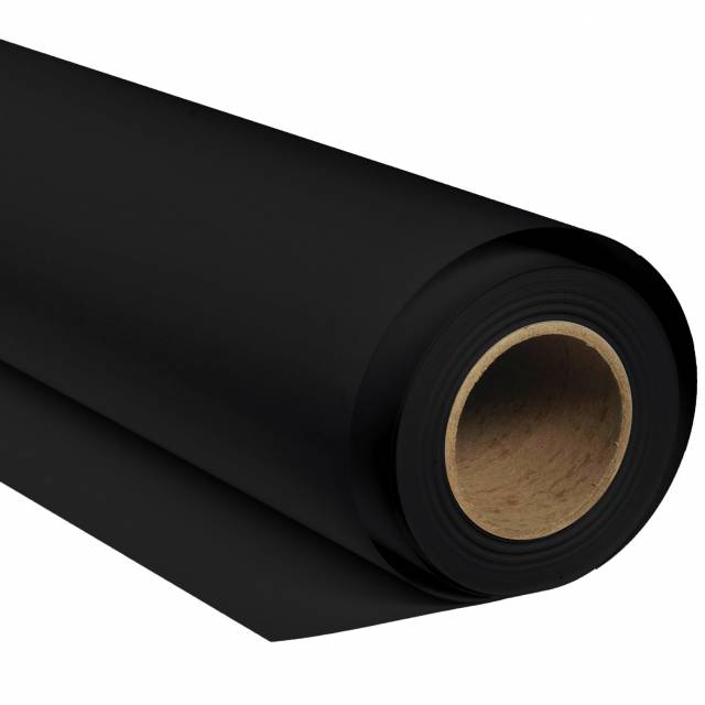 BRESSER SBP02 Papierhintergrundrolle 2,72 x 11m Schwarz